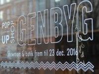 Genbyg i Black Studio