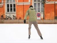 Åbning af skøjtebanen på Frederiksberg Runddel