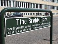 Tine Brylds Plads indviet