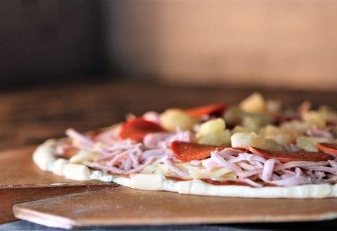 Snup en pizza midt i juletiden