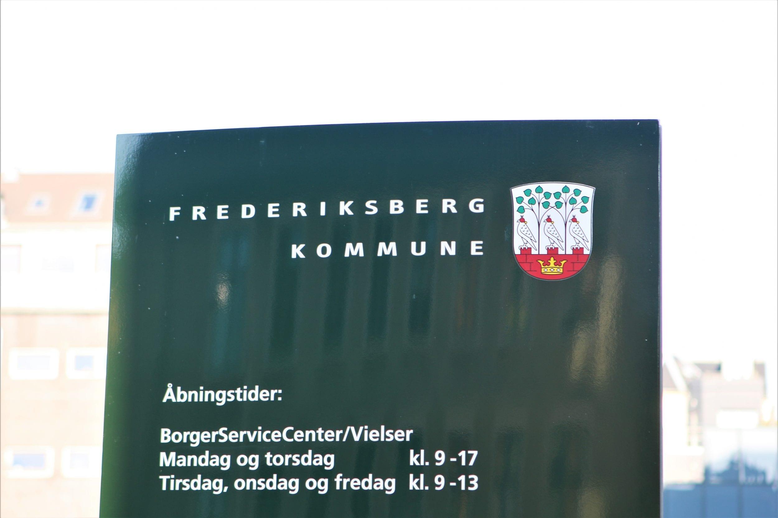 Frederiksberg Rådhus forbedrer adgangsforholdene ved hovedindgangen