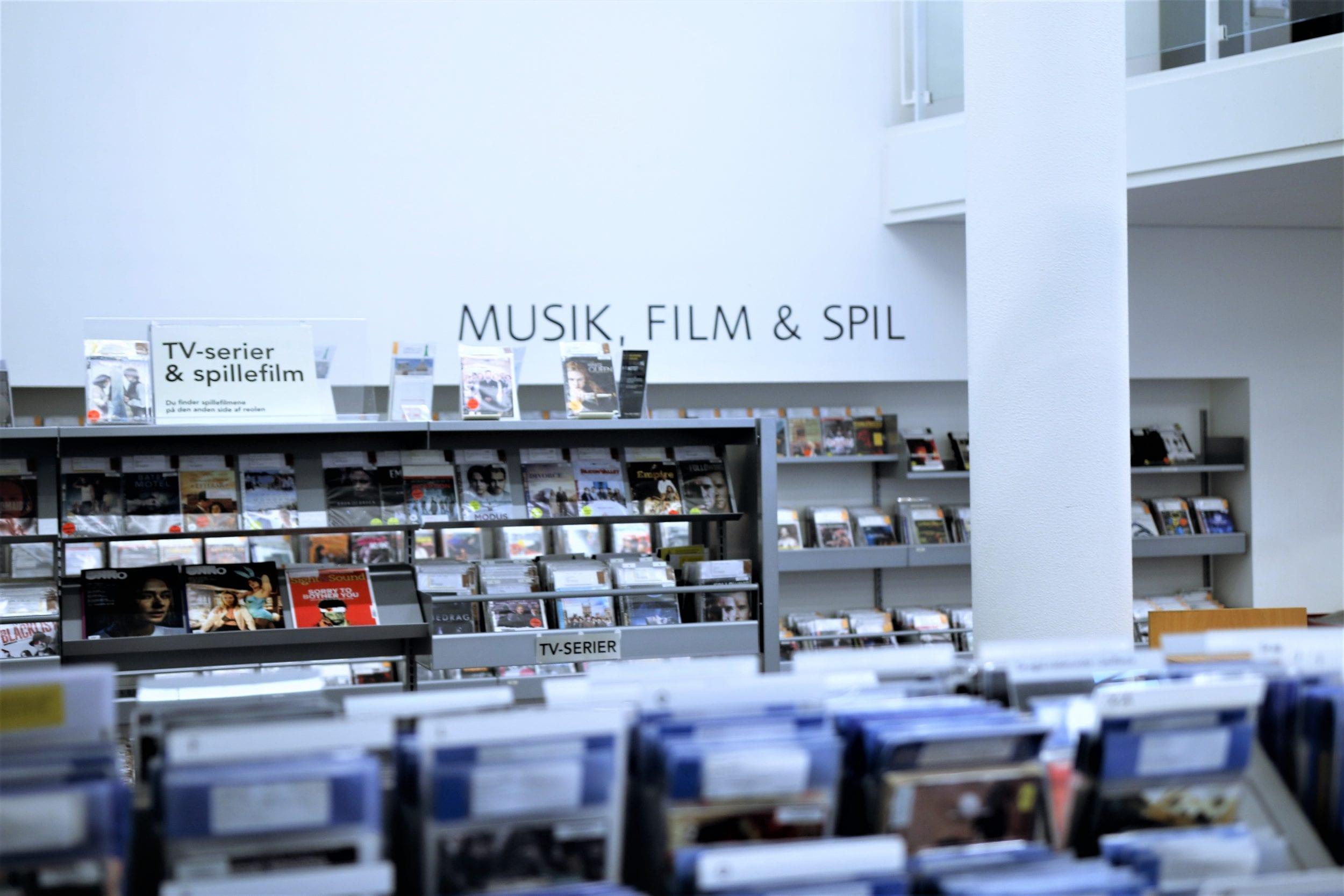Frederiksberg Hovedbibliotek åbner for besøg