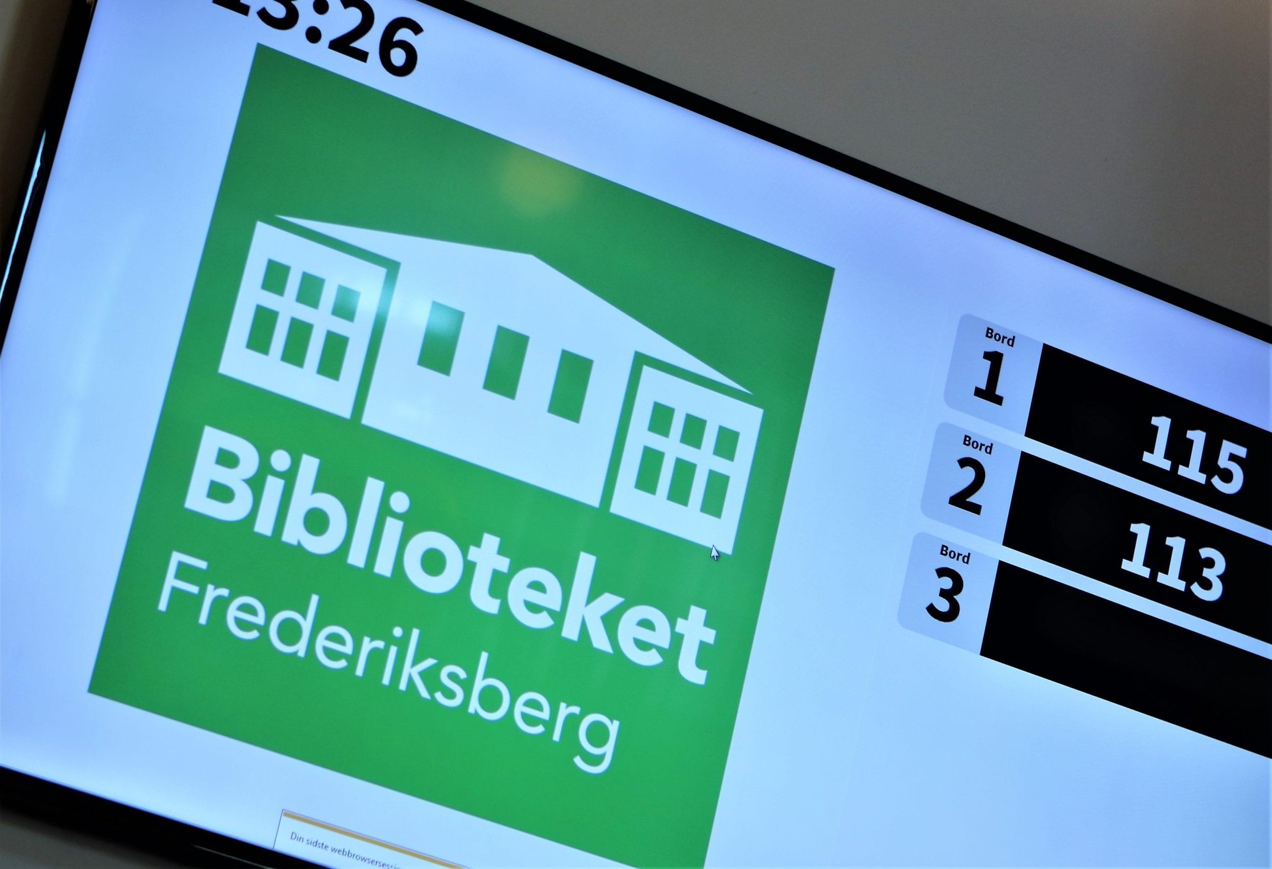 Biblioteket Godthåbsvej får ny indretning