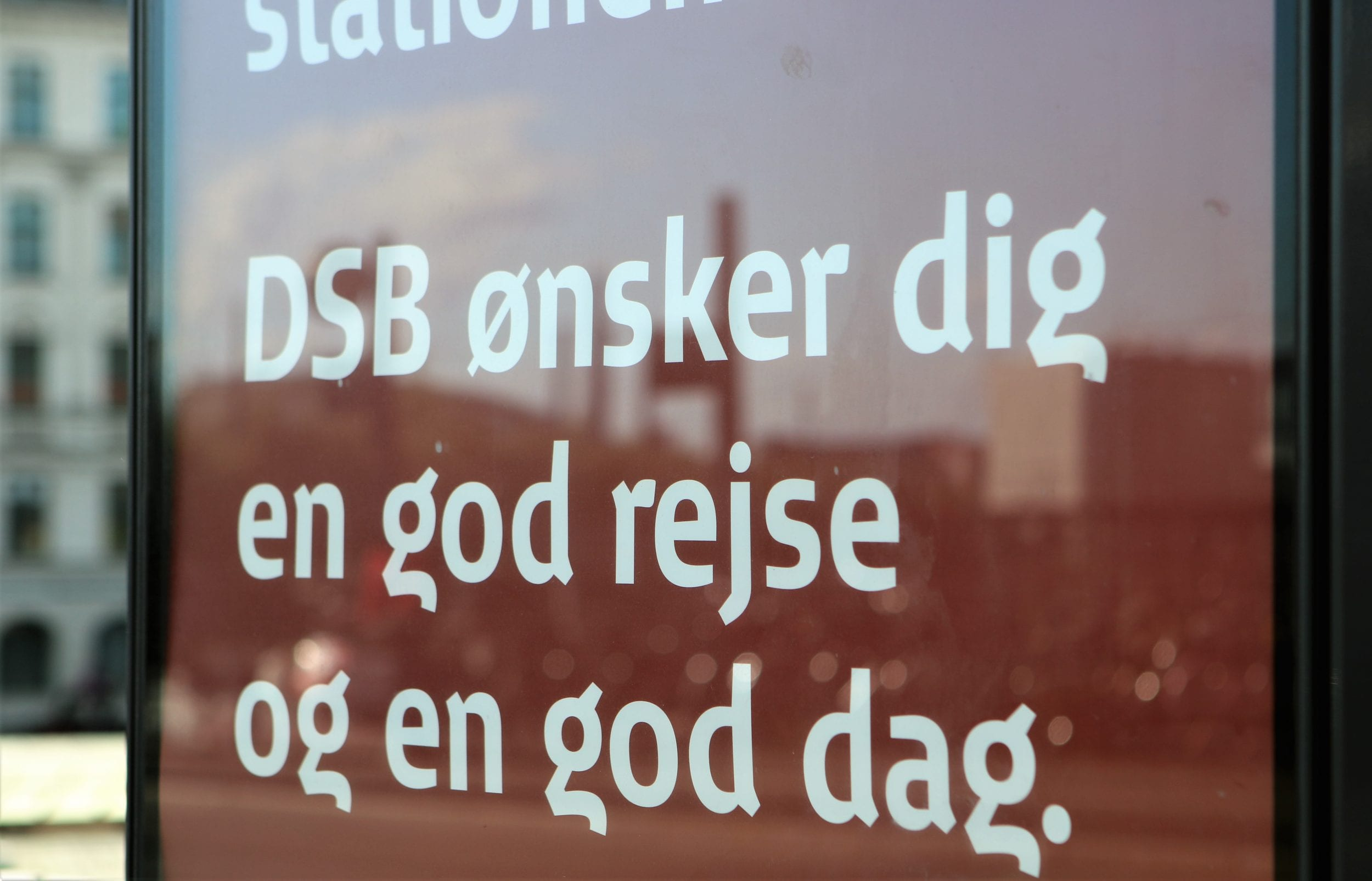 Opdatering fra DSB: Sådan passer vi på hinanden i toget
