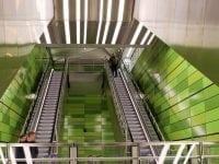 Rekordmange passagerer i metroen