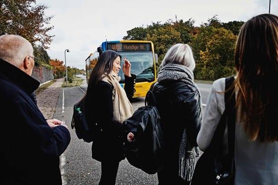 Movia tilpasser afgange på busser og lokaltog