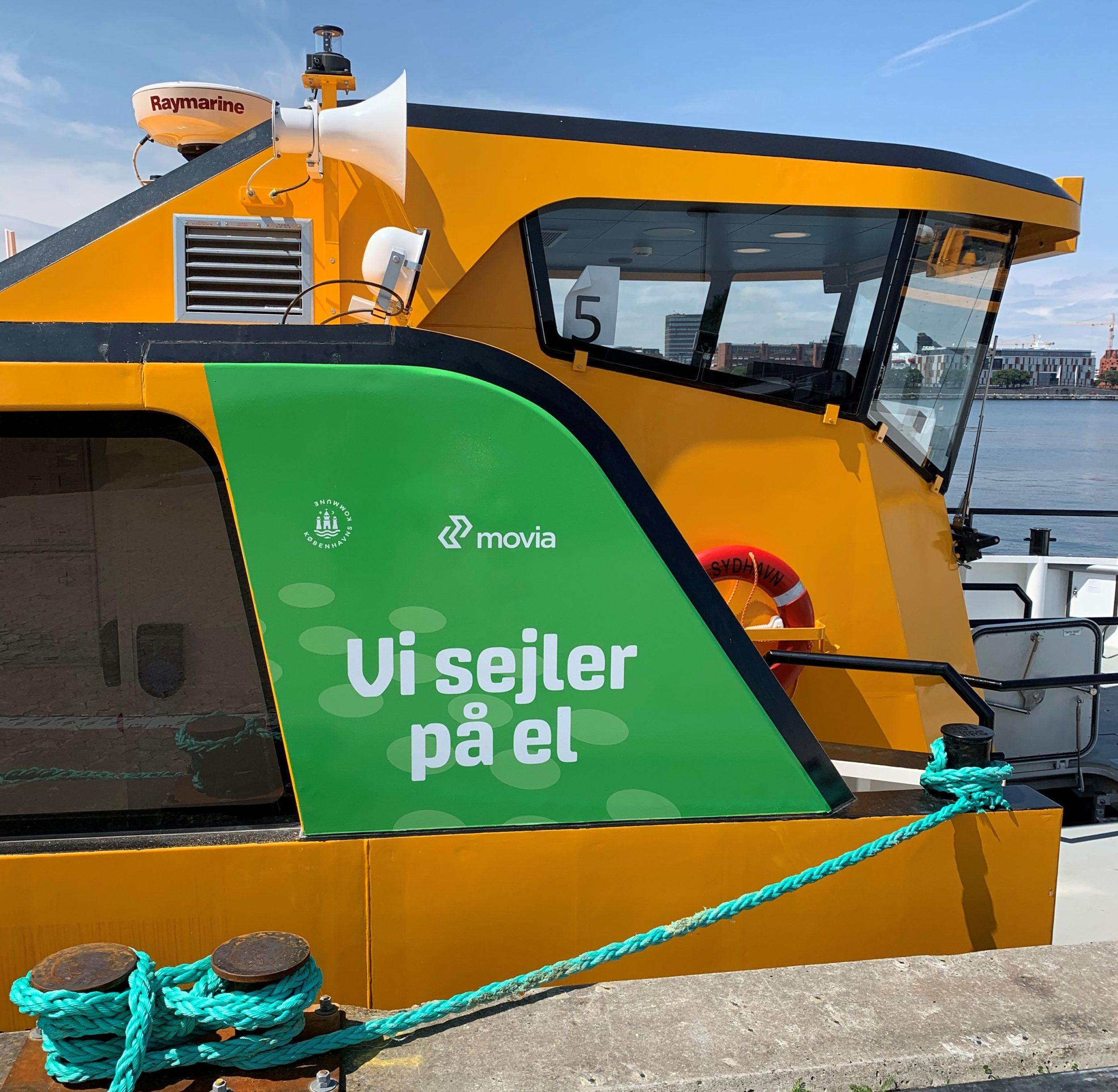 Nu tager Københavns første elhavnebusser passagerer med ombord