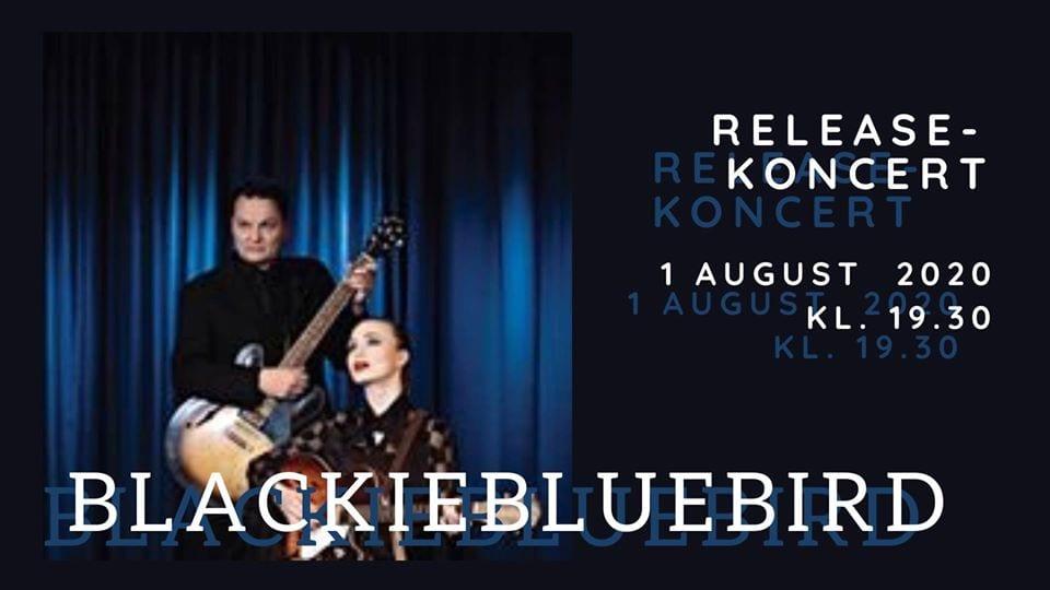 BlackieBlueBird releasekoncert – under åben himmel