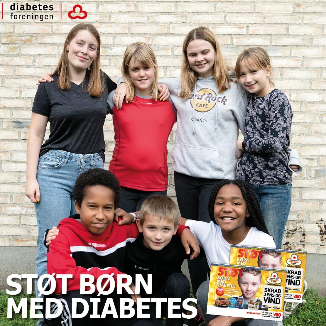 Tjen penge på skrabelodssalg – mens du støtter børn med diabetes