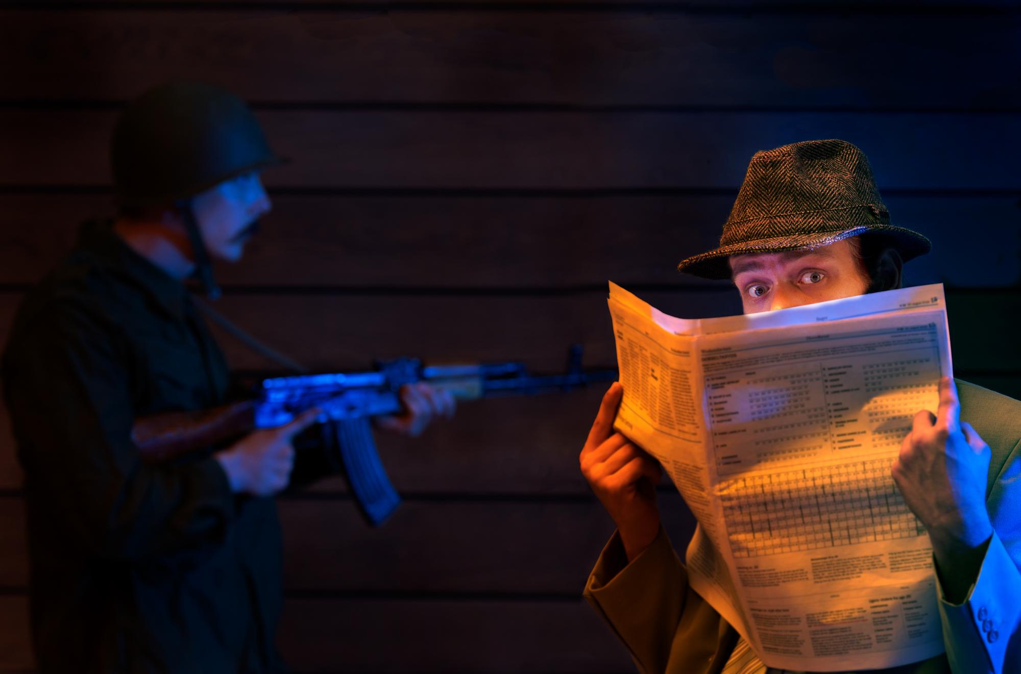Kom i lære som spion på Krigsmuseet i efterårsferien