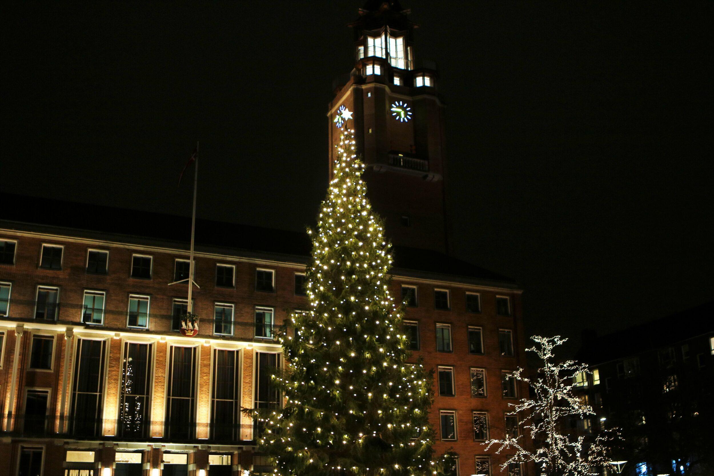Rådhuset er lukket mellem jul og nytår
