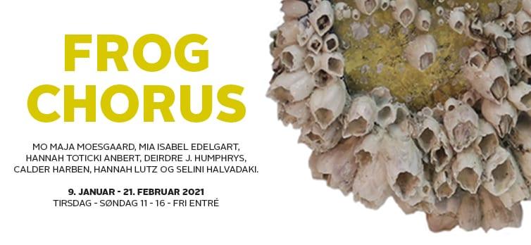 Oplev Møstings Hus' udstilling Frog Chorus - udefra og online