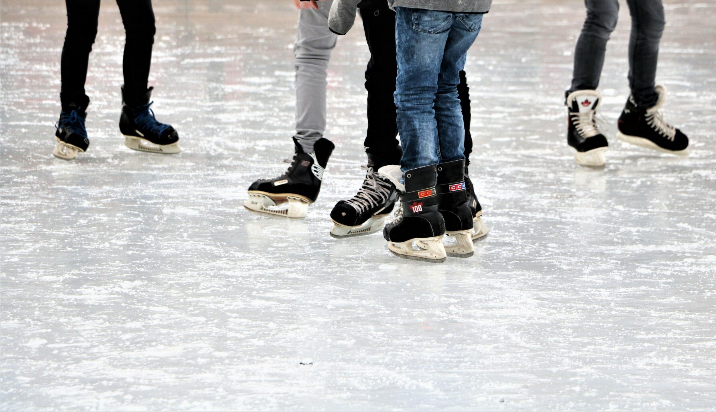 De første skilte er oppe - se, hvor du sikkert og lovligt kan gå ud på isen