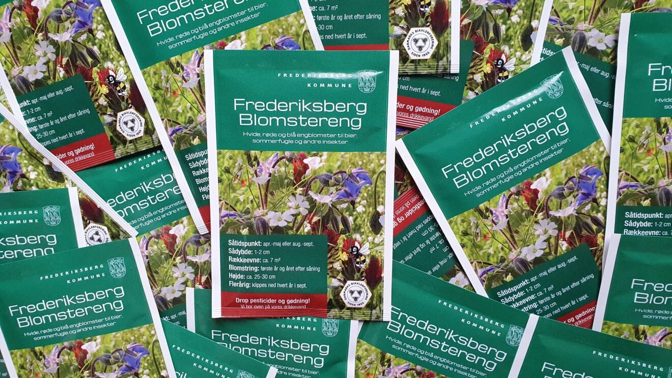 Vil du hjælpe til med at fremme biodiversiteten på Frederiksberg?