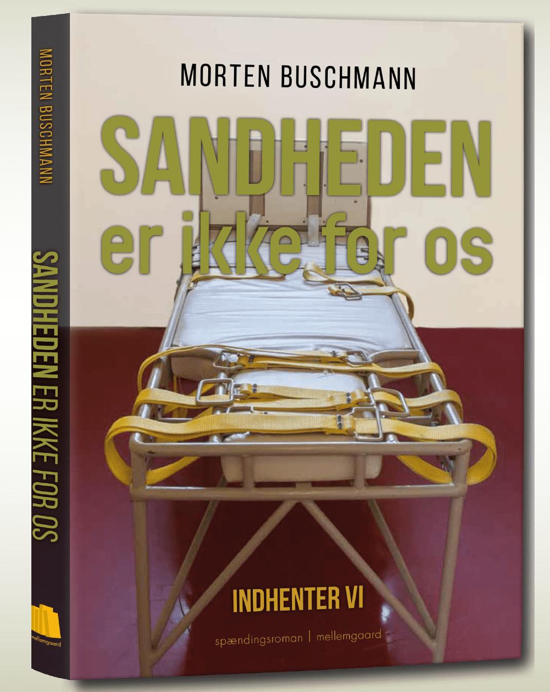 Frederiksbergforfatters sjette thriller udkommet i april