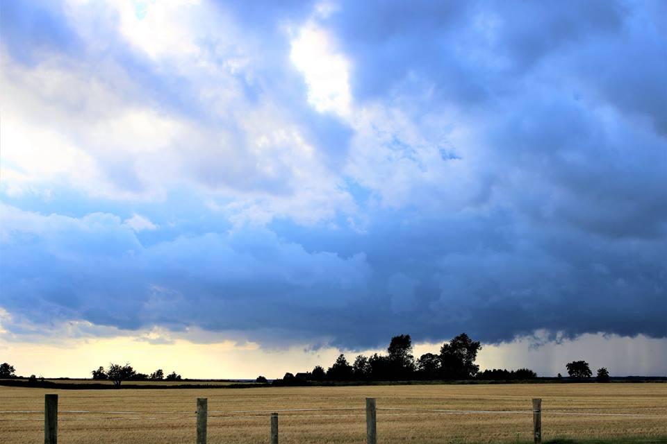 Van(d)vittigt mange skybrud over Danmark