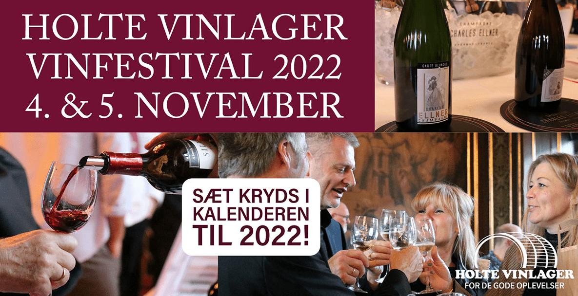 Ses vi på Holte Vinlager Vinfestival i 2022?